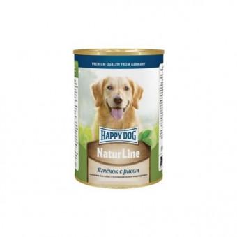HAPPY DOG / влажный корм для собак / ЯГНЕНОК / РИС