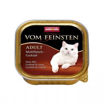 ANIMONDA / VOM FEINSTEN ADULT / влажный корм для кошек / ГОВЯДИНА / ЯГНЕНОК / ИНДЕЙКА / КРОЛИК