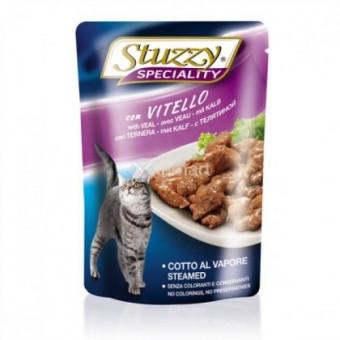 STUZZY / SPECIALITY / влажный корм для кошек / ТЕЛЯТИНА