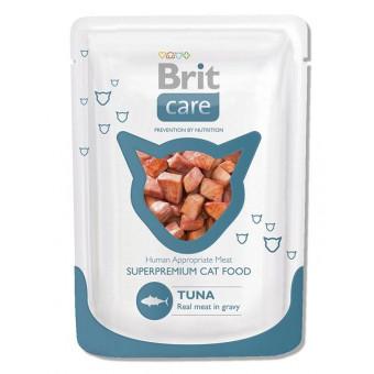 BRIT / влажный корм для кошек / ТУНЕЦ