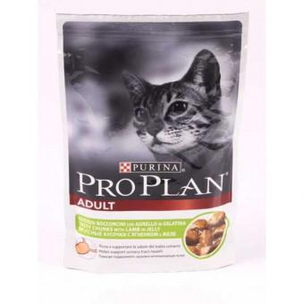 PRO PLAN / NUTRISAVOUR ADULT / влажный корм для кошек / ЯГНЕНОК / СОУС