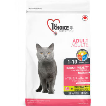 1st CHOICE /  VITALITY / сухой корм для кошек / ЦЫПЛЕНОК