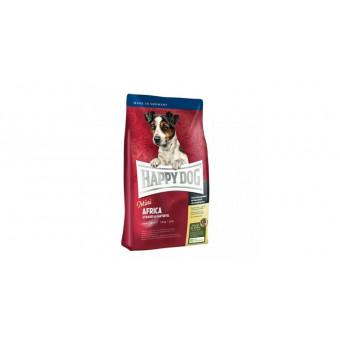 HAPPY DOG / MINI AFRICA / сухой корм для собак мини пород /  СТРАУС / КАРТОФЕЛЬ