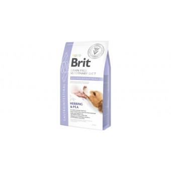 BRIT / GRAIN FREE / GASTROINTESTINAL / беззерновая диета при болезни ЖКТ / СЕЛЬДЬ / ЛОСОСЬ / ГОРОХ