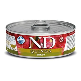 FARMINA N&D / QUINOA / URINARY / сухой корм для  кошек для профилактики МКБ / УТКА / СЕЛЬДЬ / КИНОА