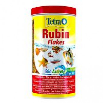 TETRA / RUBIN / FLAKES / корм для тропических рыб для усиления окраса