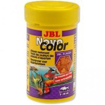 JBL / NOVO COLOR / цветной корм для яркости окраса рыб