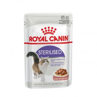 ROYAL CANIN / STERILISED / влажный корм для стерилизованных кошек /  МЯСО ПТИЦЫ / СОУС