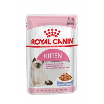 ROYAL CANIN / KITTEN / влажный корм для котят /  МЯСО ПТИЦЫ  / ЖЕЛЕ