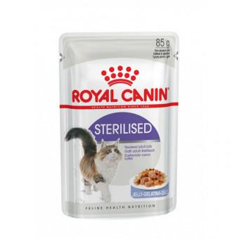 ROYAL CANIN / STERILISED / влажный корм для стерилизованных кошек /  МЯСО ПТИЦЫ / ЖЕЛЕ