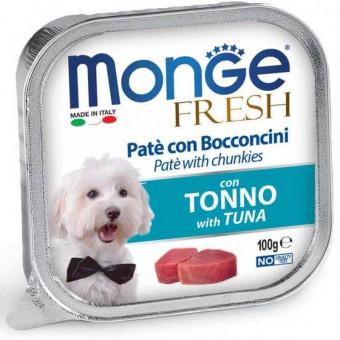 MONGE DOG / FRESH / влажный корм для собак / ТУНЕЦ