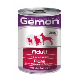 GEMON / влажный корм для собак / ГОВЯЖИЙ РУБЕЦ / ПАШТЕТ