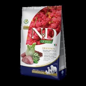 FARMINA N&D QUINOA / DIGESTION / сухой корм для собак / ЯГНЕНОК