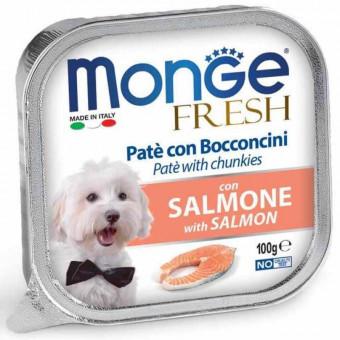 MONGE DOG / FRESH / влажный корм для собак / ЛОСОСЬ