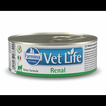 FARMINA / VET LIVE / RENAL / влажный корм для кошек /  для лечения  струвитного уролитиаза