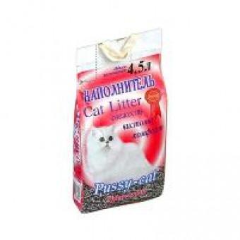 PUSSY - CAT / древесный наполнитель