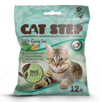 CAT STEP / TOFU GREEN TEA / комкующийся наполнитель