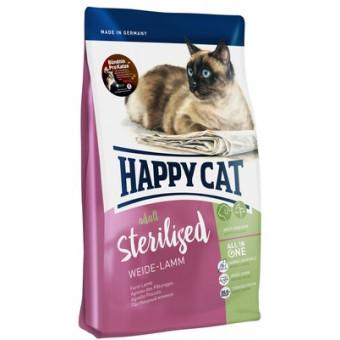 HAPPY CAT / STERILISED / сухой корм для стерилизованных кошек / ЯГНЕНОК
