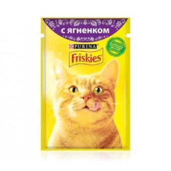 FRISKIES / влажный корм кошек / ЯГНЕНОК