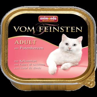 ANIMONDA / VOM FEINSTEN ADULT / влажный корм для кошек / СЕРДЦЕ ИНДЕЙКИ