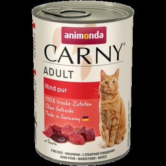 ANIMONDA / CARNY ADULT / влажный корм для кошек / ОТБОРНАЯ ГОВЯДИНА